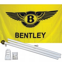 Bentley 3' x 5' Polyester Flag, Pole and Mount