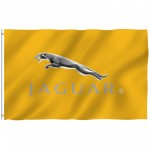 Jaguar Gold 3' x 5' Polyester Flag