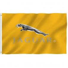 Jaguar Gold 3' x 5' Polyester Flag