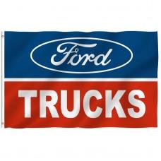 Ford Trucks 3' x 5' Polyester Flag