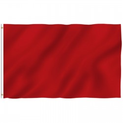 Solid Burgundy 3' x 5' Polyester Flag