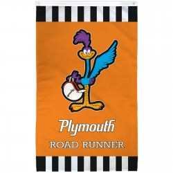 Plymouth Road Runner Vertical 3' x 5' Polyester Flag