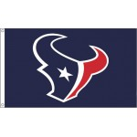 Houston Texans Mascot 3' x 5' Polyester Flag