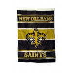 "New Orleans Saints 40"" x 28"" House Flag"