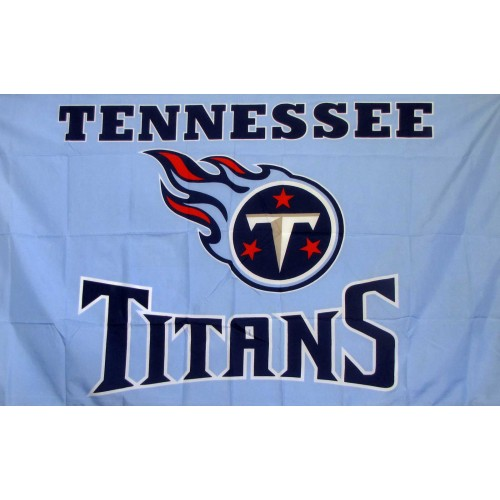 Tennessee Titans 3 U0026 39  X 5 U0026 39  Polyester Flag  Pole And Mount