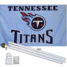 Tennessee Titans 3' x 5' Polyester Flag, Pole and Mount