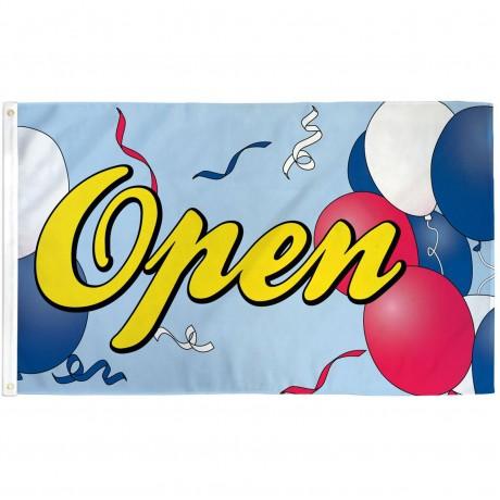 Open Balloons 3' x 5' Polyester Flag