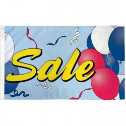 Sale Balloons 3' x 5' Polyester Flag