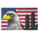 USA No Forgetting 9/11 3' x 5' Polyester Flag