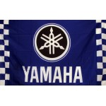 Yamaha Checkered Automotive 3' x 5' Flag