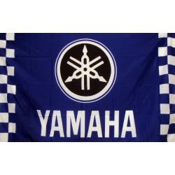 Yamaha Checkered Automotive 3' x 5' Flag