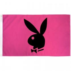 Playboy Bunny Pink 3' x 5' Polyester Flag
