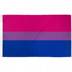 Bi Pride 3' x 5' Polyester Flag
