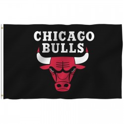 Chicago Bulls 3' x 5' Polyester Flag