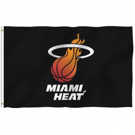 Miami Heat 3' x 5' Polyester Flag