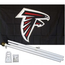 Atlanta Falcons Mascot 3' x 5' Polyester Flag, Pole and Mount