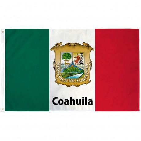 Coahuila Mexico State 3' x 5' Polyester Flag