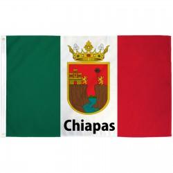 Chiapas Mexico State 3' x 5' Polyester Flag