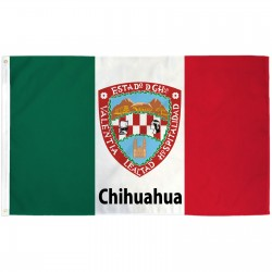 Chihuahua Mexico State 3' x 5' Polyester Flag