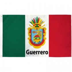 Guerrero Mexico State 3' x 5' Polyester Flag