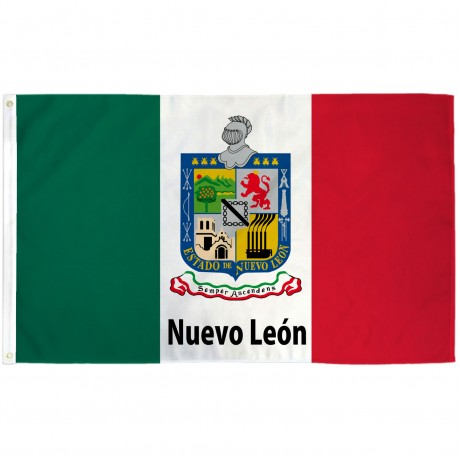 Nuevo Leon Mexico State 3' x 5' Polyester Flag