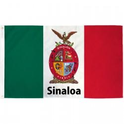 Sinaloa Mexico State 3' x 5' Polyester Flag