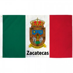 Zacatecas Mexico State 3' x 5' Polyester Flag