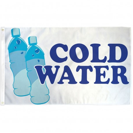 Cold Water 3' x 5' Polyester Flag
