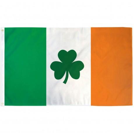 Ireland Shamrock 3' x 5' Polyester Flag