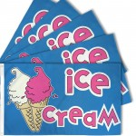 Ice Cream 3' x 5' Polyester Flag - 5 pack