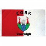 Cork Ireland County 3' x 5' Polyester Flag
