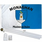 Monaghan Ireland County 3' x 5' Polyester Flag, Pole and Mount