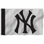 New York Yankees Stripes 3' x 5' Polyester Flag