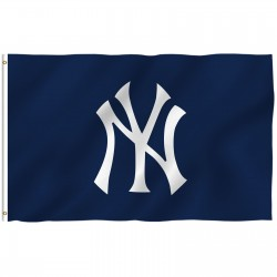 New York Yankees Blue 3' x 5' Polyester Flag