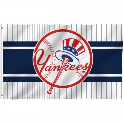 New York Yankees Logo 3' x 5' Polyester Flag