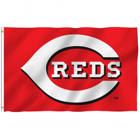 Cincinnati Reds 3' x 5' Polyester Flag