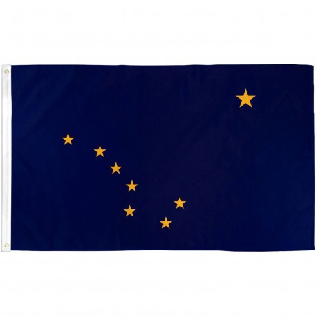 Alaska State 3' x 5' Polyester Flag