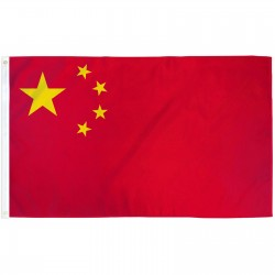 China 3' x 5' Polyester Flag