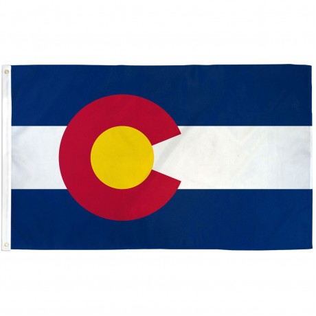Colorado State 3' x 5' Polyester Flag