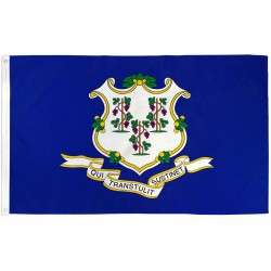 Connecticut State 3' x 5' Polyester Flag