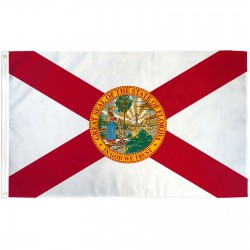 Florida State 3' x 5' Polyester Flag