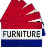 Furniture 3' x 5' Polyester Flag - 5 Pack