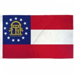 Georgia State 3' x 5' Polyester Flag