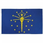 Indiana State 3' x 5' Polyester Flag