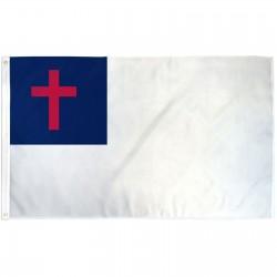 International Christian 3' x 5' Polyester Flag