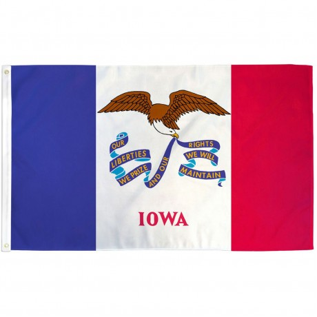Iowa State 3' x 5' Polyester Flag