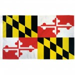 Maryland State 3' x 5' Polyester Flag