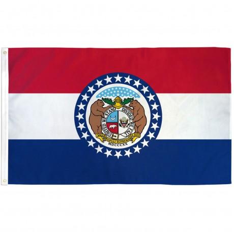 Missouri State 3' x 5' Polyester Flag