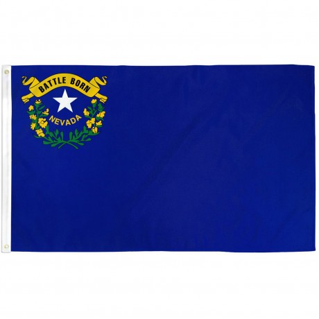 Nevada State 3' x 5' Polyester Flag