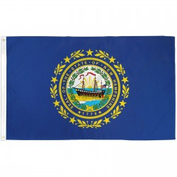New Hampshire State 3' x 5' Polyester Flag